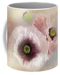Delicate Pastel Poppies Coffee Mug