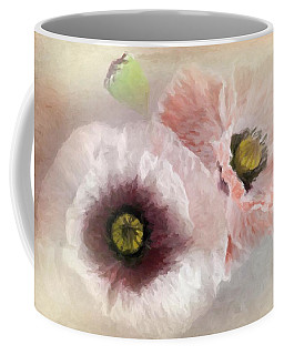 Delicate Pastel Poppies Coffee Mug