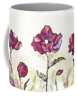 Delicate Poppy I Coffee Mug