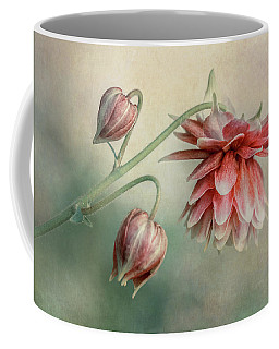 Delicate Red Columbine Coffee Mug