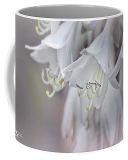 Delicate White Flowers Coffee Mug