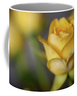 Delicate Yellow Rose  Coffee Mug by Terry DeLuco