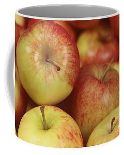 Delicious Apple Fruit Background Coffee Mug