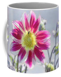 Coffee Mug featuring the photograph Delicious Dahlia by Belinda Greb