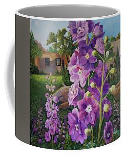 Delightful Delphiniums Coffee Mug