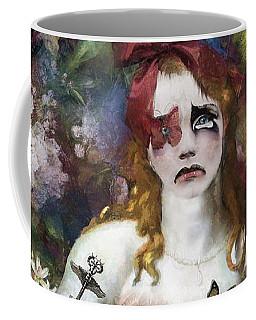 Coffee Mug featuring the digital art Delilah by Nola Lee Kelsey