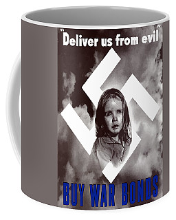 Deliver Us From Evil Coffee Mug