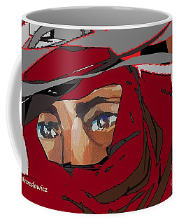 Delivery Boy Coffee Mug by Andrew Drozdowicz