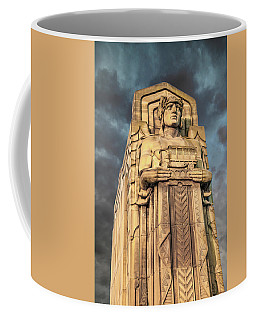 Delivery Truck Guardian Coffee Mug