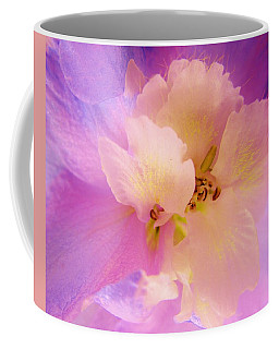 Delphinium Abstract Coffee Mug
