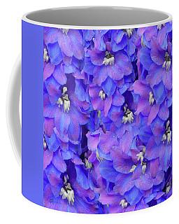 Delphinium Blue Coffee Mug by Shirley Heyn