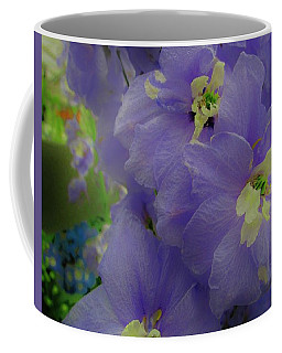 Delphinium Blues Coffee Mug