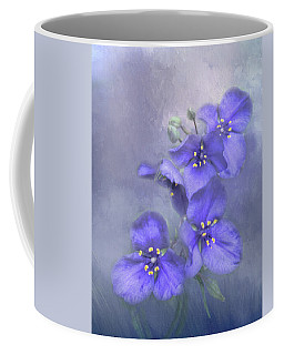 Delphinium Portrait Coffee Mug