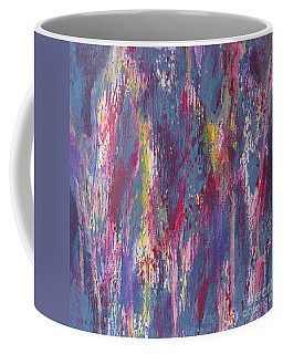 Coffee Mug featuring the painting Delve Deep 2 by Mini Arora