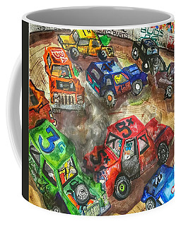 Demo Derby One Coffee Mug by Jame Hayes
