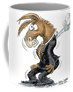 Democrat Deflates Coffee Mug