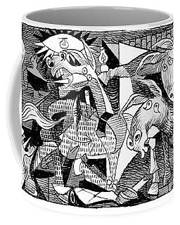 Democrat Guernica Coffee Mug