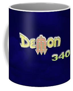 Coffee Mug featuring the photograph Demon 340 Emblem by Mike McGlothlen