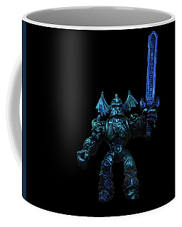 Coffee Mug featuring the photograph Demon Knight by Mark Blauhoefer