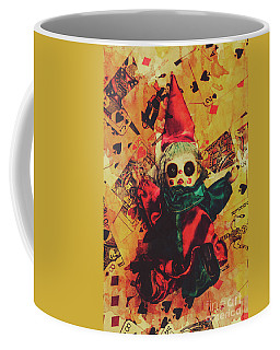 Demonic Possessed Joker Doll Coffee Mug