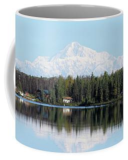 Denali From Kashwitna Lake Coffee Mug