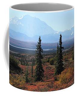 Denali From Near Wonder Lake Coffee Mug