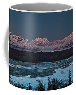 Denali Morning Blue Coffee Mug