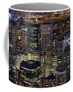 Coffee Mug featuring the photograph Dencity II by Alex Lapidus