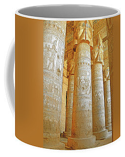Dendera Temple Coffee Mug by Nigel Fletcher-Jones