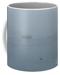 Dense Fog On The Bay Coffee Mug
