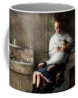 Coffee Mug featuring the photograph Dentist - Good Oral Hygiene 1918  by Mike Savad