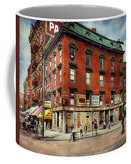 Coffee Mug featuring the photograph Dentist - Peerless Painless Dental Parlors 1910 by Mike Savad
