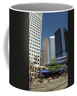 Coffee Mug featuring the photograph Denver Architecture by Frank Romeo