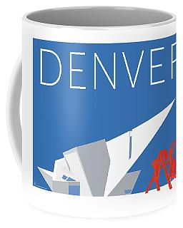 Denver Art Museum/blue Coffee Mug