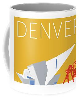 Denver Art Museum/gold Coffee Mug