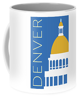 Denver Capitol/blue Coffee Mug