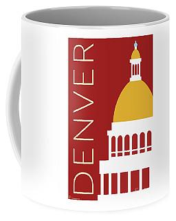 Denver Capitol/maroon Coffee Mug