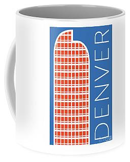 Denver Cash Register Bldg/blue Coffee Mug