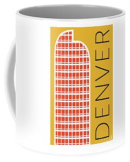 Denver Cash Register Bldg/gold Coffee Mug