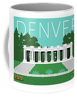 Denver Cheesman Park/lt Blue Coffee Mug