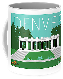 Denver Cheesman Park/lt Blue Coffee Mug