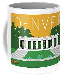 Denver Cheesman Park/gold Coffee Mug