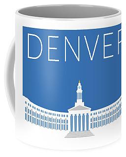 Denver City And County Bldg/blue Coffee Mug