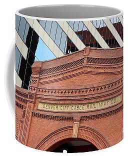 Denver City Cable Rail Way Company Coffee Mug
