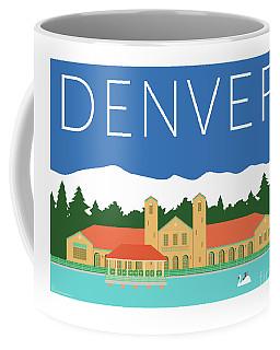 Denver City Park/blue Coffee Mug
