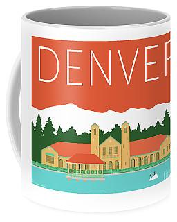 Denver City Park/coral Coffee Mug