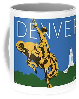 Denver Cowboy/dark Blue Coffee Mug