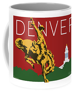 Denver Cowboy/maroon Coffee Mug