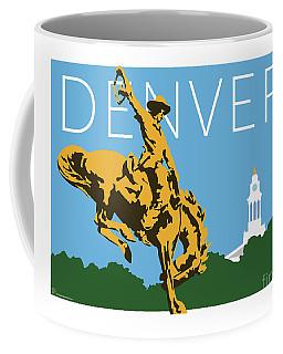 Denver Cowboy/sky Blue Coffee Mug