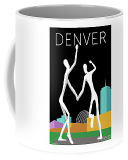 Denver Dancers/black Coffee Mug